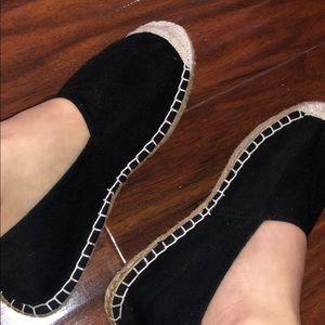Shoes - Black espadrilles
